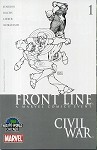 Civil War: Frontline #1 Turner Wizard World Chicago Sketch Variant