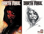 Star Wars Darth Maul # 1 Aspen Turner Variant Set of 2