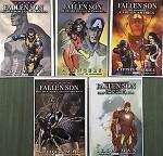 Fallen Son Death of Captain America Set of 5 Turner Varian Covers