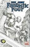 Fantastic Four #546 Turner WWPhilly Sketch Variant
