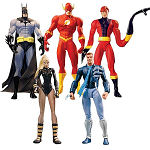 Identity Crisis Action Figures Series 2 Set of 5 Inner Case