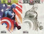 Secret Empire Omega # 1 Michael Turner Variant Set of 2