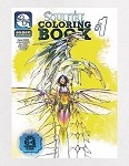 Michael Turner's Soulfire Coloring Book # 1