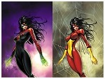 Spider-Woman # 1 Turner Exclusive Set of 2