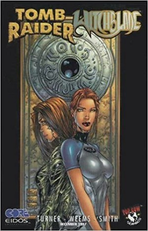 Tomb Raider Witchblade Special # 1 Variant Black