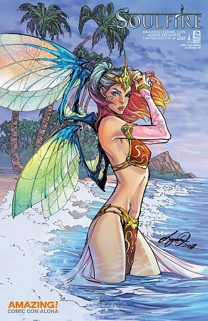 Soulfire Vol 7 # 2 Amazing Aloha Exclusive