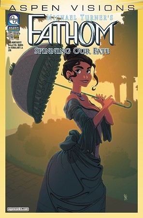 Aspen Visions Fathom Spinning Our Fate # 1 Cover B